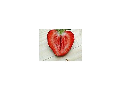 Photo Small Strawberry Glass 10 Food