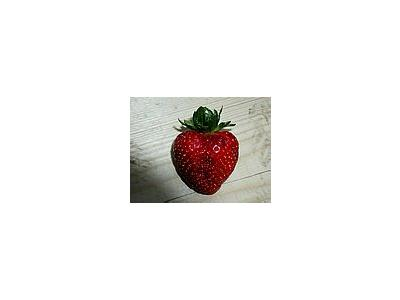 Photo Small Strawberry Glass 4 Food