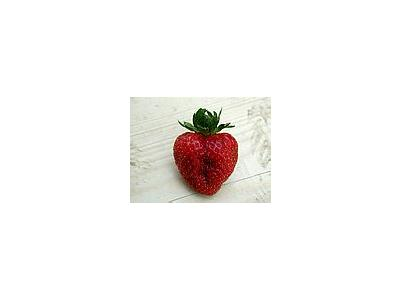 Photo Small Strawberry Glass 5 Food