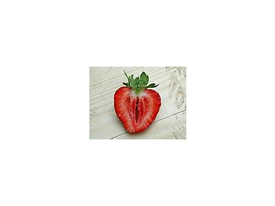 Photo Small Strawberry Glass 6 Food