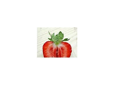 Photo Small Strawberry Glass 9 Food
