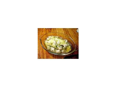 Photo Small Baked Scallops Food