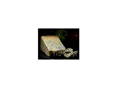 Photo Small Blue Stilton Cheese Food