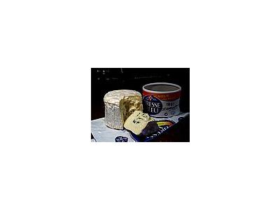 Photo Small Bresse Bleu Cheese Food