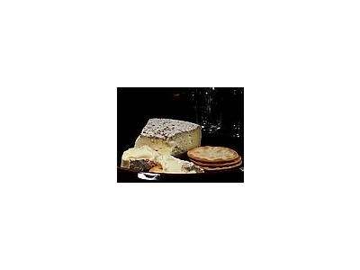 Photo Small Brie Cheese Food