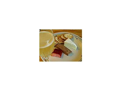 Photo Small Brie Cheese Plate Food