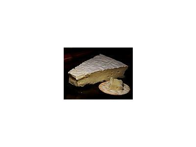 Photo Small Brie D Meux Cheese Food