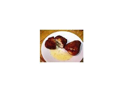 Photo Small Chicken Kiev Food