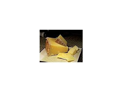 Photo Small Lincolnshire Poacher Cheese Food