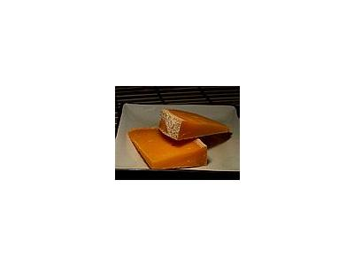 Photo Small Mimolette Cheese Food