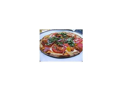 Photo Small Pizza Food