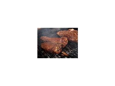 Photo Small Porterhouse Steak Food