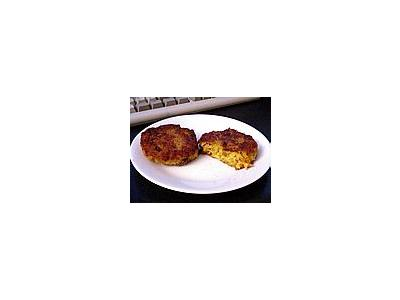Photo Small Risotto Cakes Food