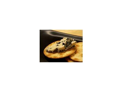 Photo Small Roquefort Cheese Food