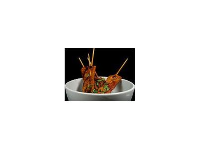 Photo Small Sate Food