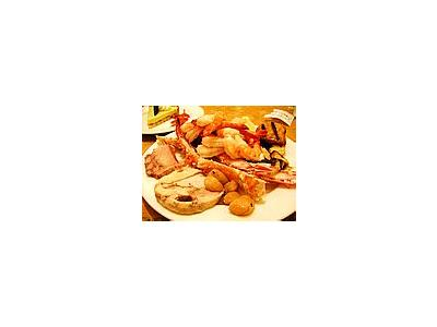 Photo Small Seafood Food