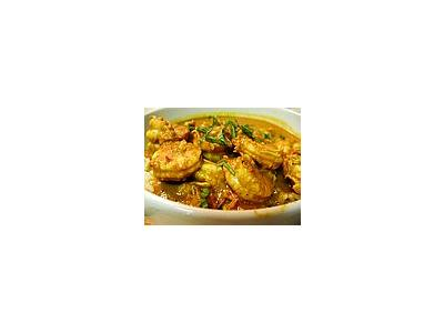 Photo Small Shrimp Curry Food