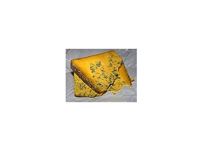 Photo Small Shropshire Blue Cheese Food