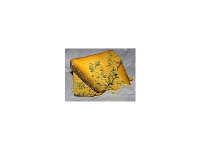 Photo Small Shropshire Blue Cheese Food