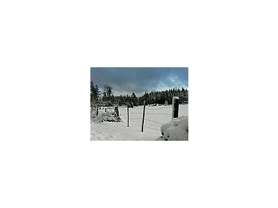 Photo Small Wire Fence Landscape