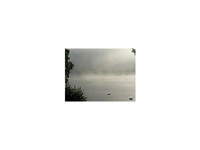Photo Small Morning Mist Over Lake 2 Landscape