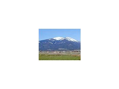 Photo Small Mountain Landscape