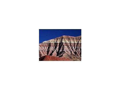 Photo Small Painted Desert Landscape