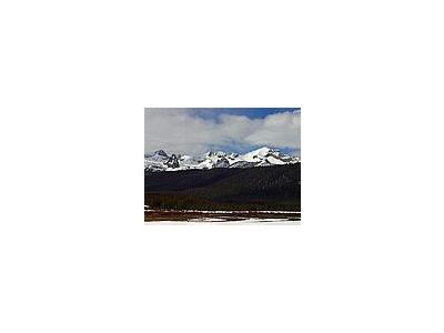 Photo Small Sawtooths Landscape