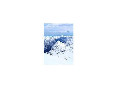 Photo Small Alp Mountains Landscape