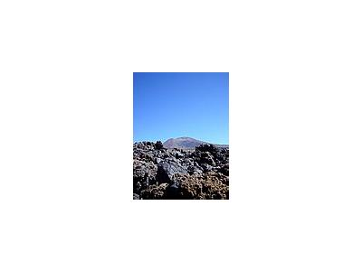 Photo Small Volcanic Mountain 2 Landscape