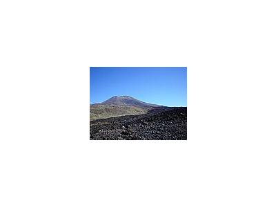 Photo Small Volcanic Mountain 3 Landscape