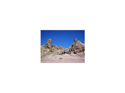 Photo Small Volcanic Rocks Landscape