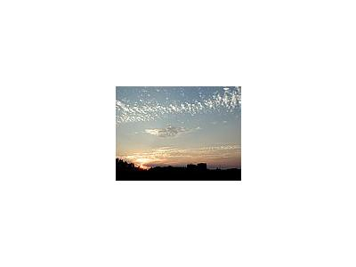 Photo Small Sunset Landscape
