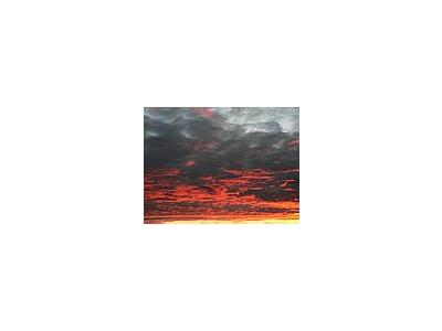 Photo Small Red Clouds 2 Landscape