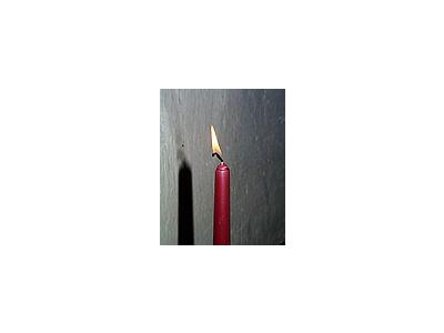 Photo Small Candle 3 Object