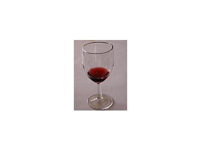Photo Small Glass Wine 3 Object