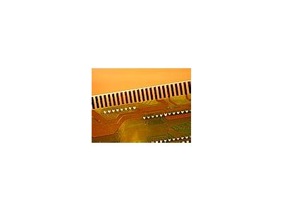 Photo Small Integrated Circuits Object