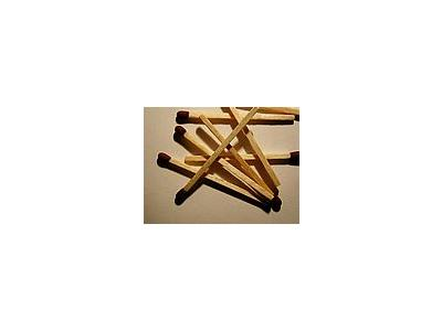 Photo Small Matches 5 Object