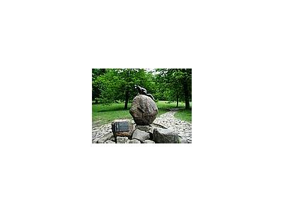 Photo Small Statue Fox 3 Object