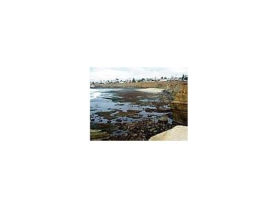 Photo Small Tide Pools Ocean