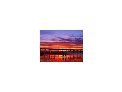 Photo Small Sunset 2 Ocean