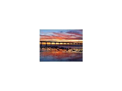Photo Small Sunset 7 Ocean