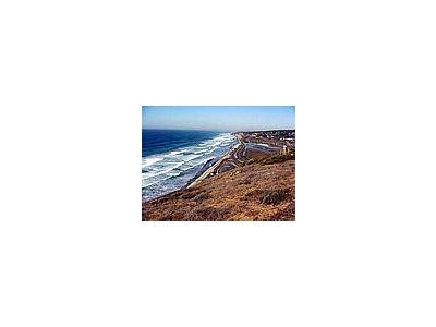 Photo Small Torrey Pines State Park 2 Ocean