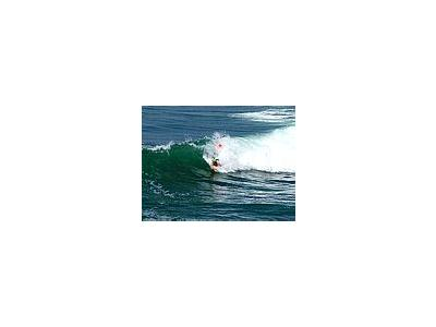 Photo Small Surfing People