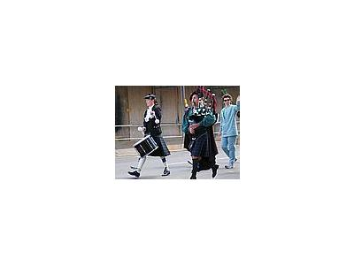 Photo Small Bagpipers People People