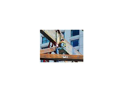 Photo Small Highrise Welder People