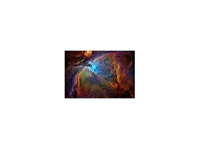 Photo Small Orion Nebula Space