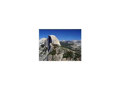Photo Small Half Dome In Yosemite 2 Travel