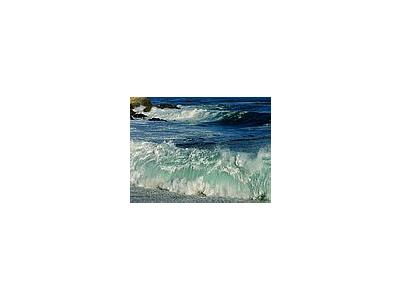 Photo Small Waves Crashing Travel