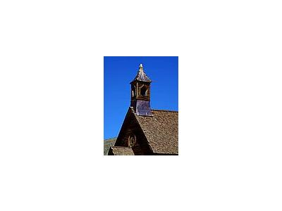 Photo Small Bodie Church Steeple Travel